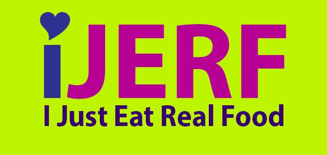 I just eat real food logo
