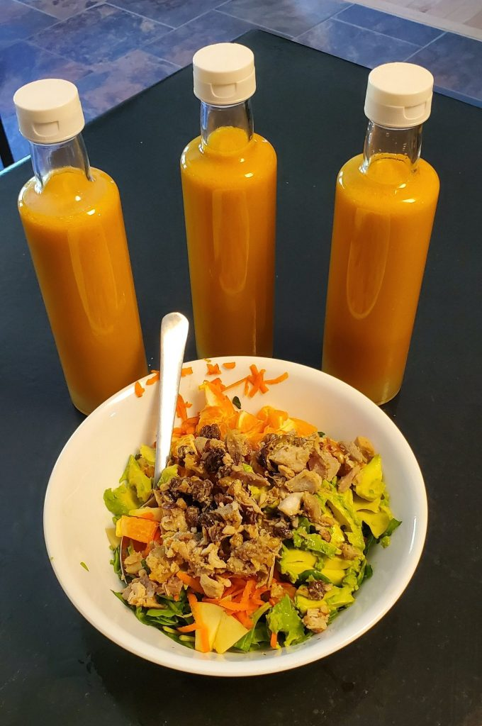 Salad dressing recipe makes 1000 liters.